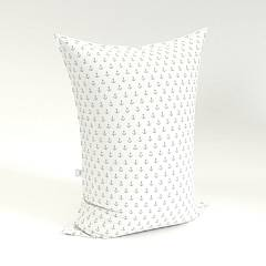 Sedací vak Pillow Kotva white grey